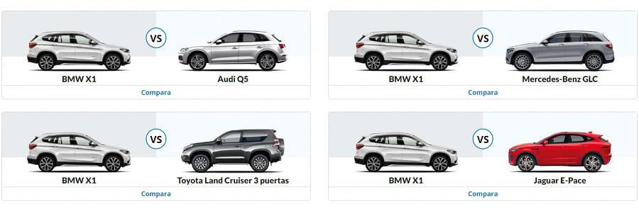comparar vehículos