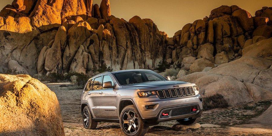 El representante de la marca Jeep, el Grand Cherokee.